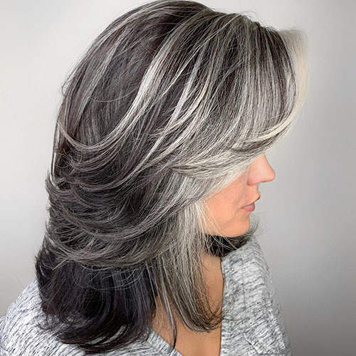 Medium Length Hairstyles Over 40