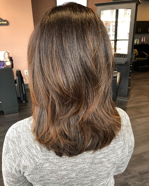 Layered Hairstyles For Medium Hair