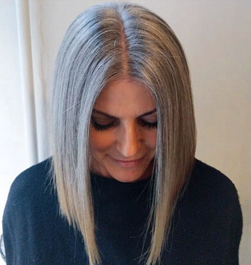 Medium Length Haircuts For Women Over 40