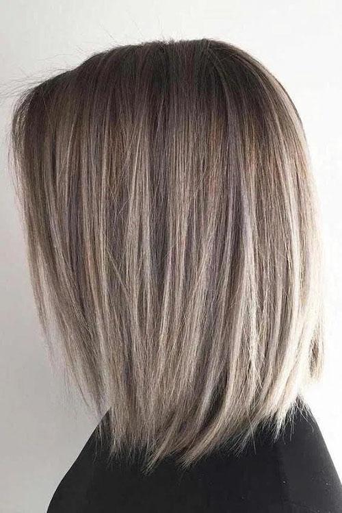 Medium Long Haircuts For Thick Hair