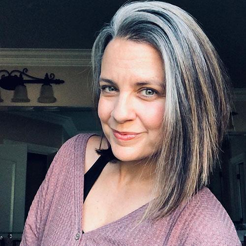 Medium Hair Over 50