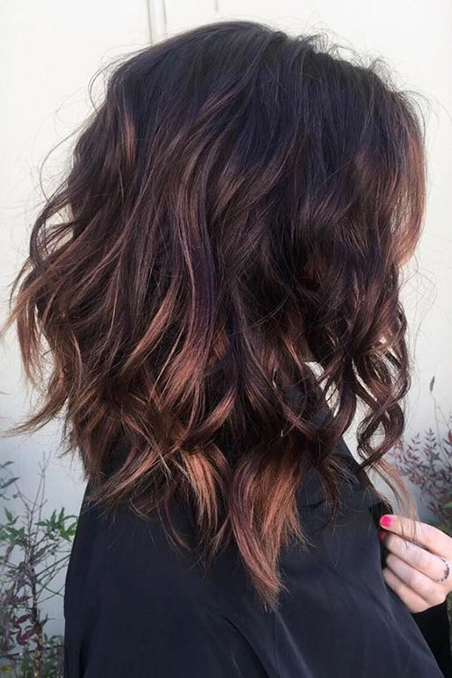 Messy Hairstyles Medium Length Hair