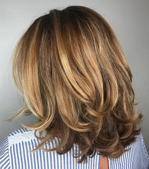 Medium Haircuts For Over 50