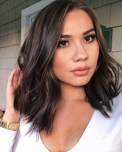 Medium Long Hairstyles For Thick Hair