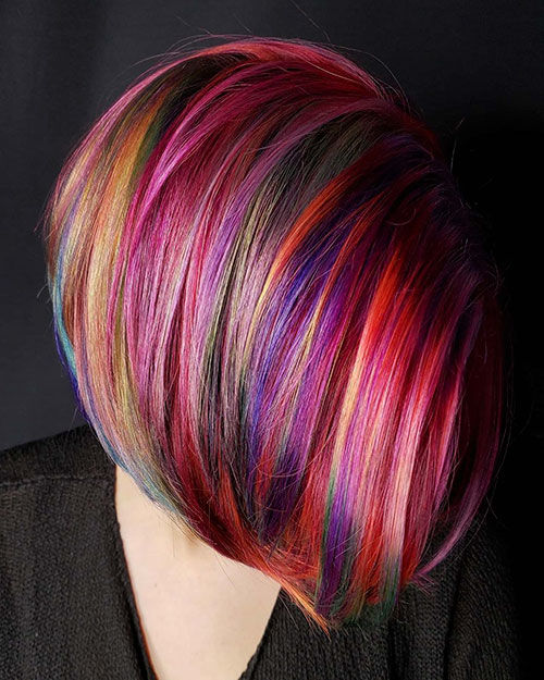 Medium Length Hairstyles And Color