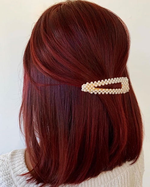 Medium Red Hair Color