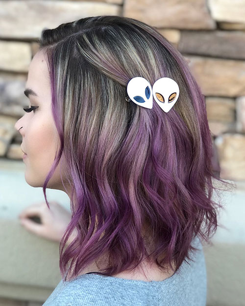 Medium Ombre Hairstyles