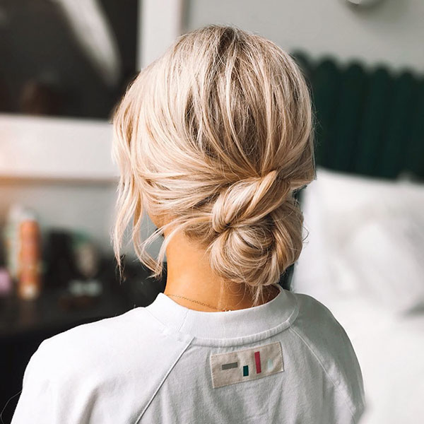 Medium Hairstyle Images For Wedding