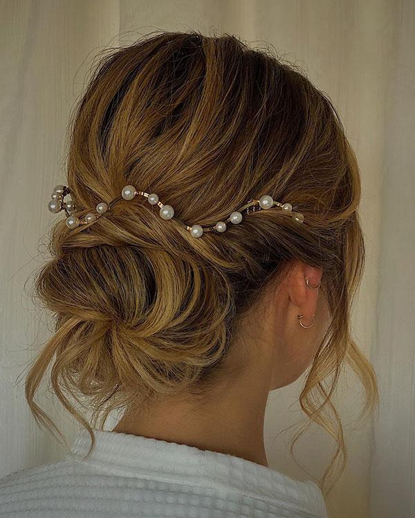 Medium Hair And Wedding Styles