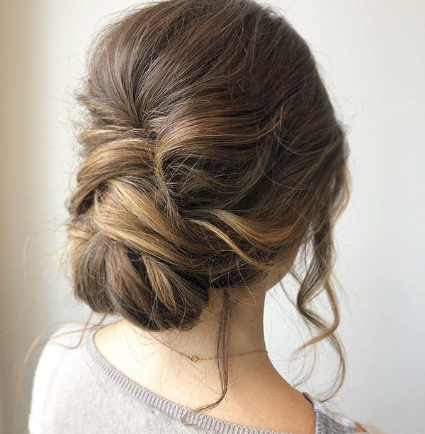 Medium Wedding Hair