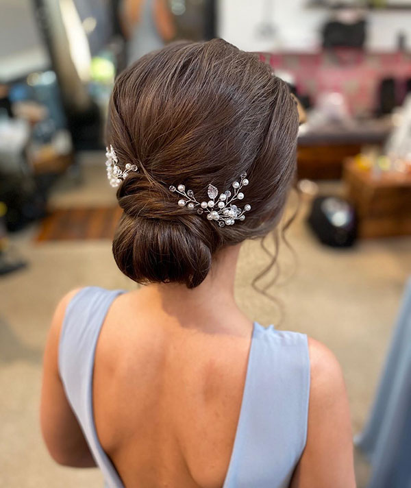 23 Evergreen Romantic Bridal Hairstyles: 23+ The Most Attractive Bridal Hairstyles For Medium Hair