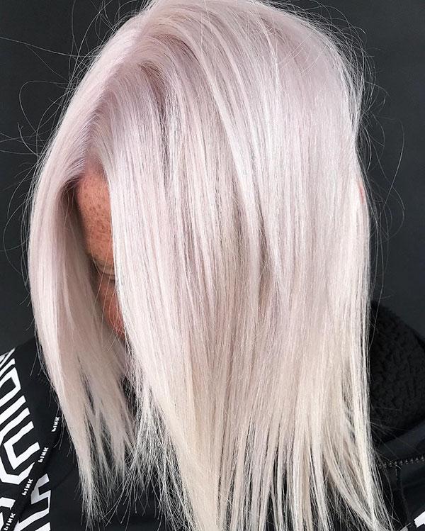 Platinum Hair Color For Medium Hair