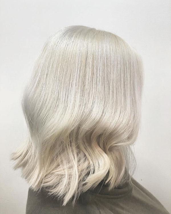 Platinum Medium Haircuts