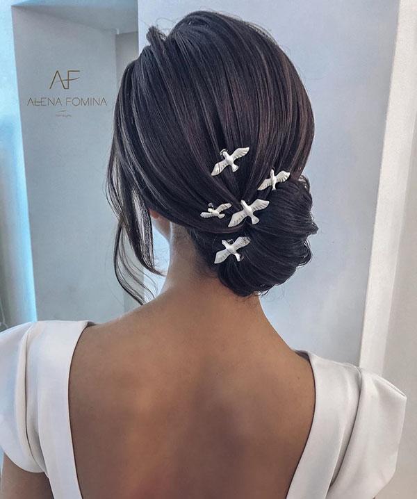 Wedding Hair For Medium Hair