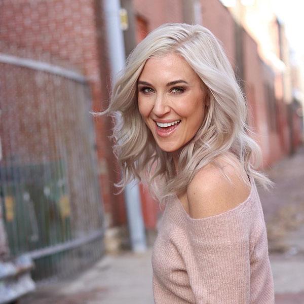 Medium Platinum Hair Pictures