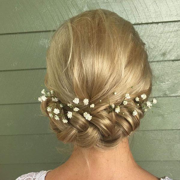 Medium Bridal Hair Ideas