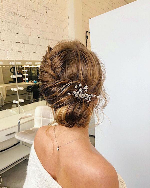 Wedding Hairdos For Medium Hair