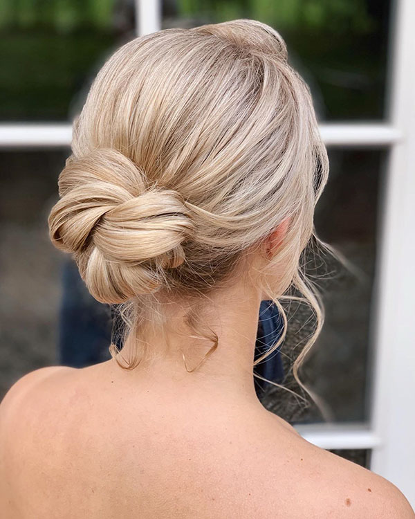 Pictures Of Medium Bridal Hairstyles