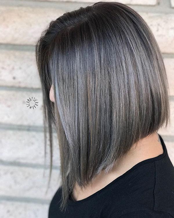 Straight Medium Haircuts
