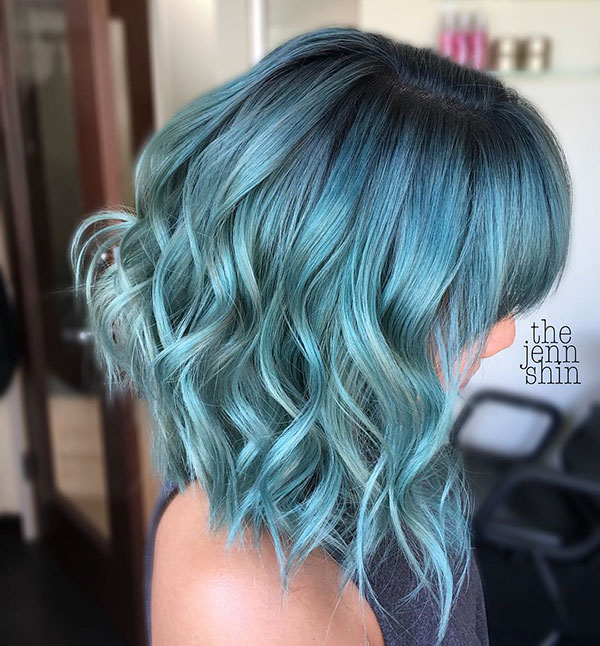 Medium Hairstyles With Bangs 2020