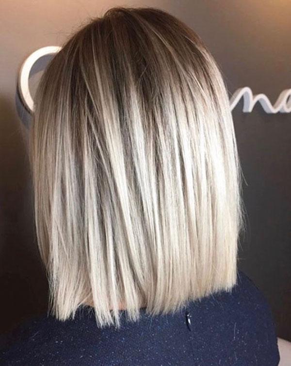 Medium Straight Haircuts 2020