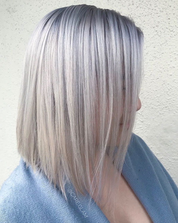 Medium Straight Hairstyles 2020