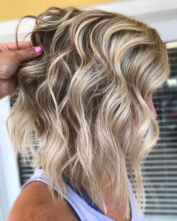 Cool Medium Blonde Hair
