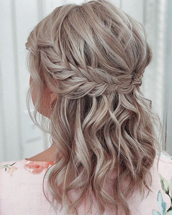 Images Of Half Up Hairstyles For Medium Hair