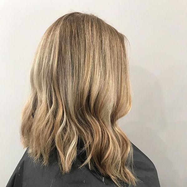 Pretty Female Medium Haircuts