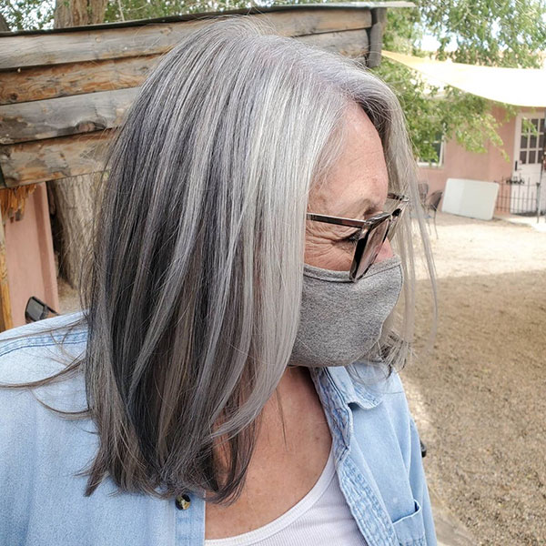 Cool Medium Hair For Over 60