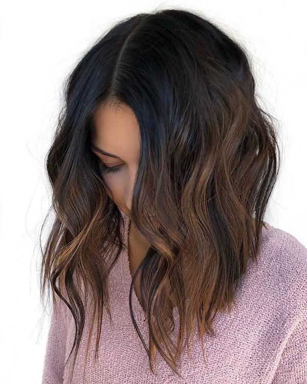 Brown Medium Hairstyles