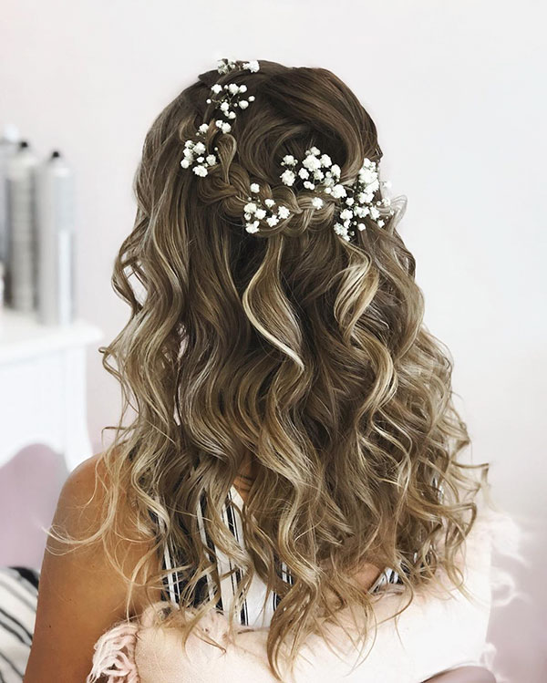 Medium Bridal Hairstyles 2020