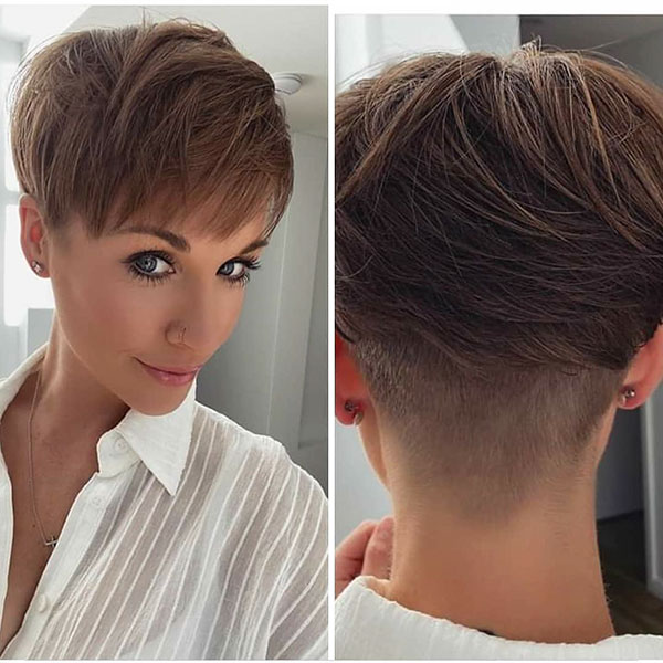 Pixie Medium Cut Ideas