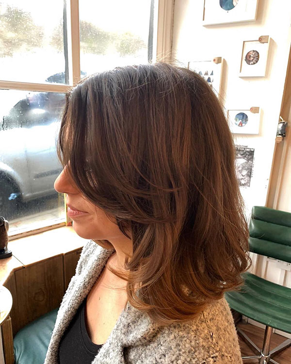 Medium Wavy Haircuts 2020