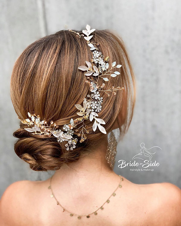 Classic Medium Bridal Hair