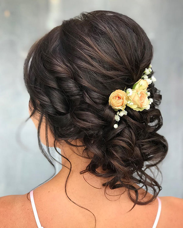 Medium Bridal Hair Images