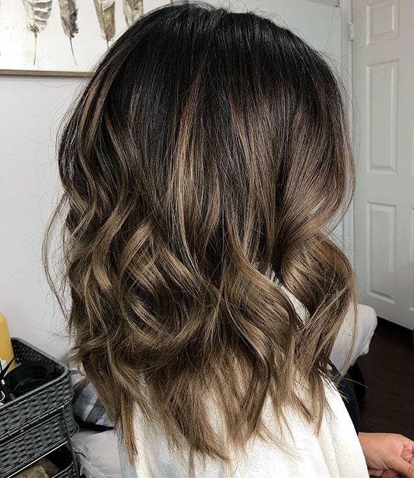 Medium Brown Hairstyles 2020
