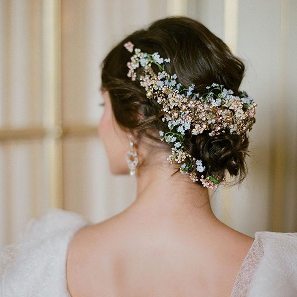 Bridal Hairstyles For Medium Hair