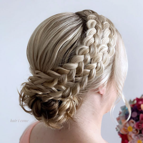 Medium Bridal Hair