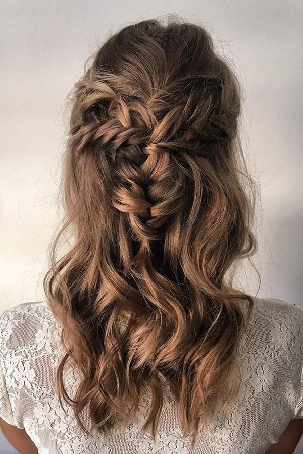 Medium Half Up Hairstyles
