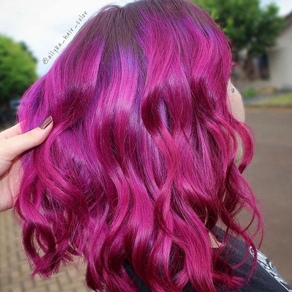 Medium Hair Color For Women
