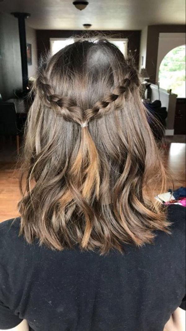Simple Half Up Hairstyles For Medium Hair