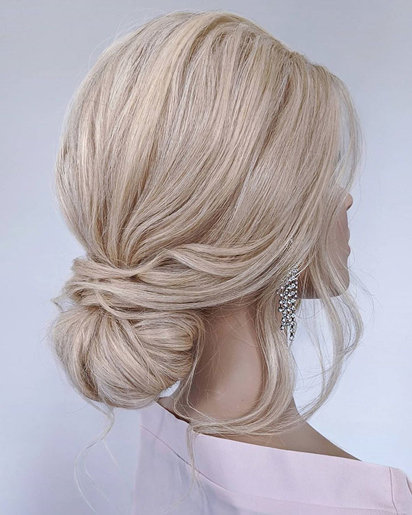 Bridal Hair For Medium Hair