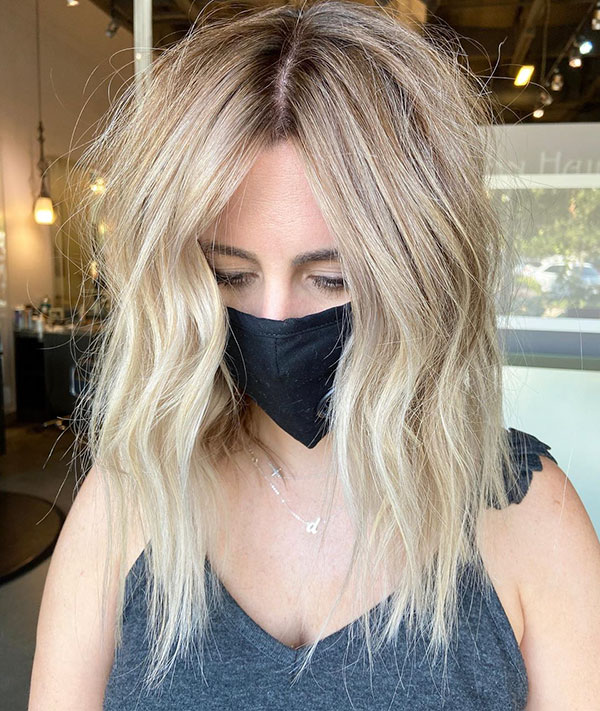 Medium Blonde Hair Ideas