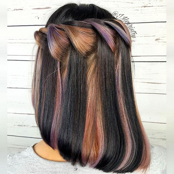 Medium Half Up Hairstyles Women
