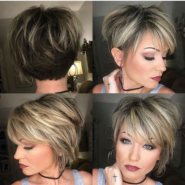 Pictures Of Medium Pixie Haircuts