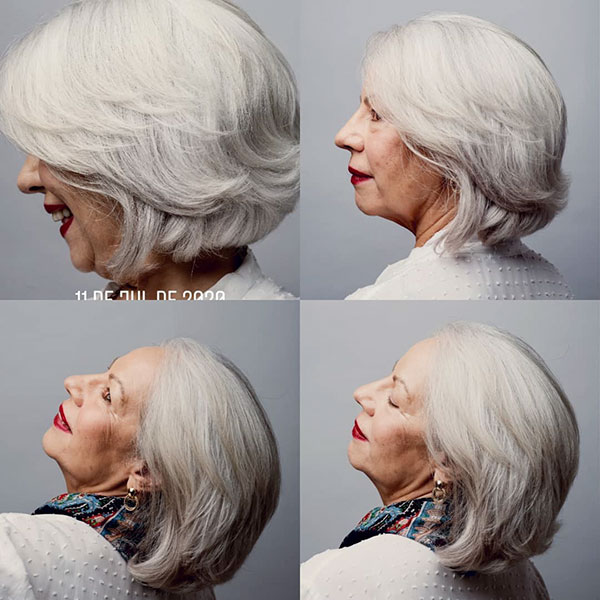 Best Medium Haircuts For Over 60