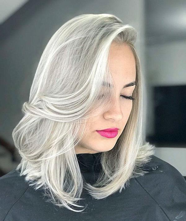 Medium Hair Color For Girls