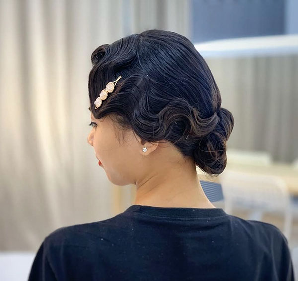 Bridal Medium Hairstyles