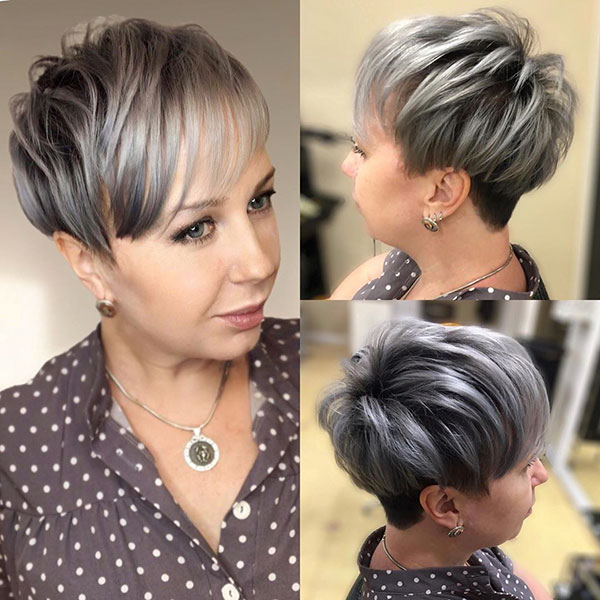 Medium Pixie Haircut Gallery